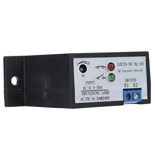 Interruptor de detección de corriente CA, interruptor de detección de corriente estable, para dispositivo inversor de monitoreo de tienda, revestimiento electrolítico