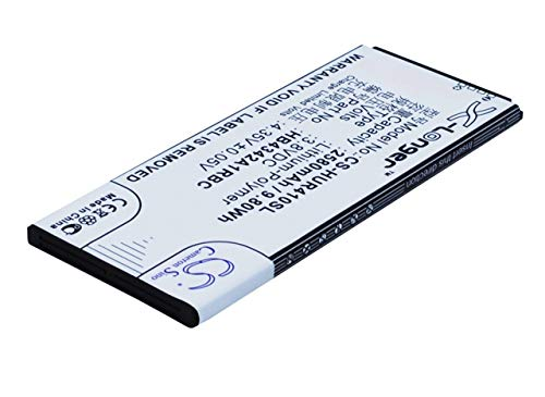 Cameron Sino Battery Li-Polymer 3.80V 2580mAh / 9.80Wh Compatible With Huawei HB4342A1RBC, Fits Huawei Honor 4A/Y6 Scale/Ascend Y6/Honor 5/Honor Play 5/Ascend Y5 2/Ascend Y5II 4G/Honor 5 Play