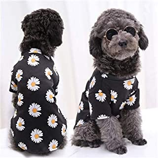 SHUOYUE Cartoon Pet Clothes Dog Hoodie Set Yellow Duck Plaid Hoody With Hat For Small Dogs Chihuahua Puppy Cat Bag Sweatsh...