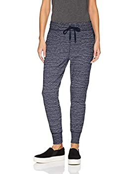 Amazon Brand - Daily Ritual Women s Relaxed Fit Terry Cotton and Modal Jogger Navy Spacedye X-Small