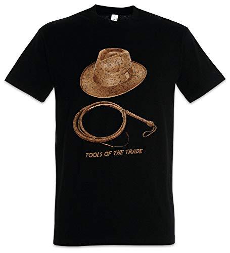 kongqi Tools of The Trade T-Shirt Indiana Fun Whip Hat Jones The Last Crusade