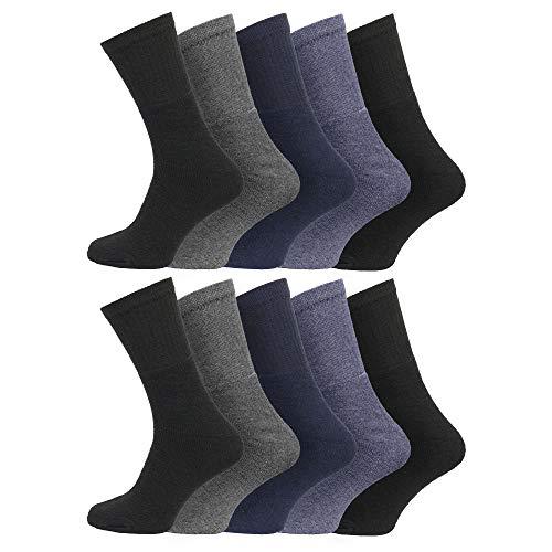 Mens Sport Active Athletic Cotton Rich Socks 6 11 Uk 43 46 Eur Multipack Assorted 10