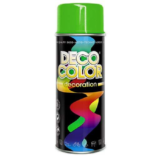 DC Lackspray oder Grundierung glänzend 400ml nach RAL freie Farbauswahl (gelb-grün glanz RAL 6018)