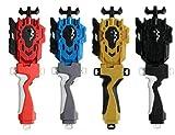 AINSS Beyblade Burst String,Beyblade Launche B-119 B-88,LR Launcher + Grip Set,Evolution String Launcher Grip Kit,Battling Top Booster ,High Performance 4D Bey Left Right Launcher Gold