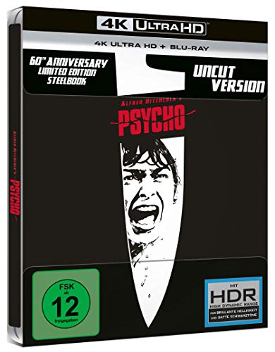 Psycho - Steelbook (4K Ultra HD) [Blu-ray]