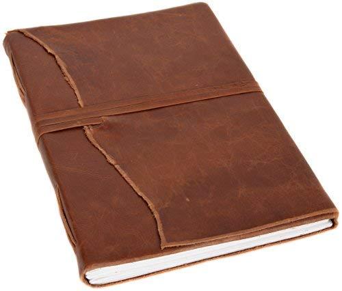 Buch Notizbuch Tagebuch Reisetagebuch Skizzenbuch Gästebuch Vintage DIN A4 Braun Leder