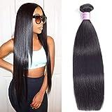 Straight hair 8A Brazilian Straight Hair 1Bundles 10 inch Brazilian Virgin Hair Straight Unprocessed Brazilian Hair Weave Human Hair Extensions