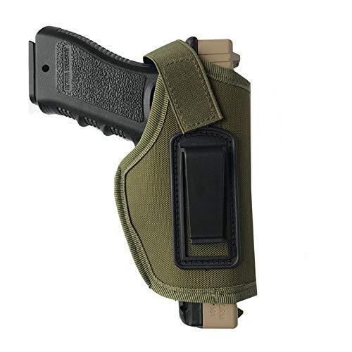 LiQinKeJi8 Cómodo Pistola táctica Folleto IWB Ocultamente Ocultado Pistola Pandster Bolste para una Pistola de subcompactos compactos Herramienta de Funda (Color : AG)