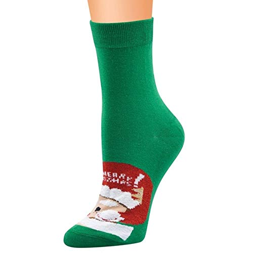 YDY Calcetines de algodón para Mujer con Estampado de Calcetines Antideslizantes más...