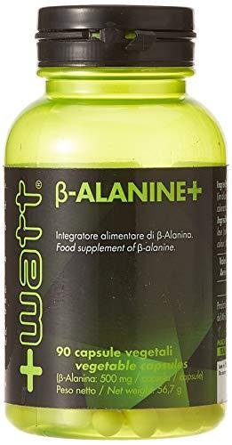 +Watt Beta-Alanine+, Integratore Alimentare di β-Alanina, 90 Capsule