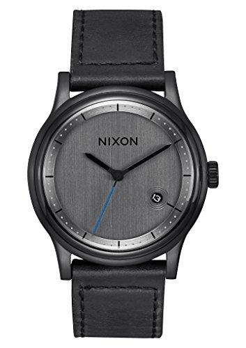 Nixon Reloj Analógico para Hombre de Cuarzo con Correa en Cuero A1161-001-00