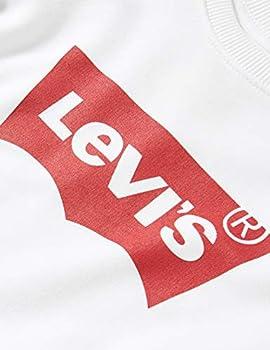 Levi's Kids Sweatshirt Fille -Lvg Key Item Logo Crew Red / White 8 ans