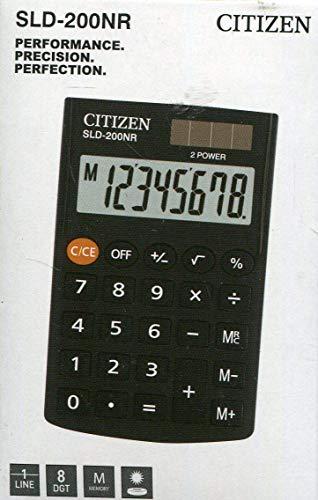 Calculadora de bolsillo Citizen SLD-200NR