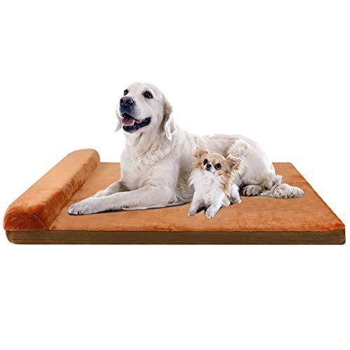 JoicyCo Large Dog Bed Crate Mat Dog Beds Now $18.59