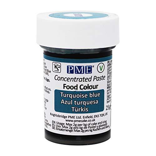 Colorante Alimenticio PME Azul Turquesa 25 g