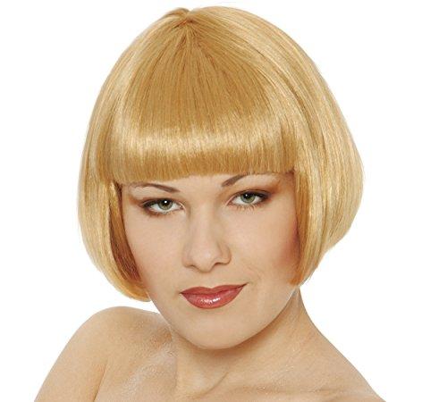 Guirca Fêtes gui4254 – Blonde Demi Perruque (Box conteneurs)