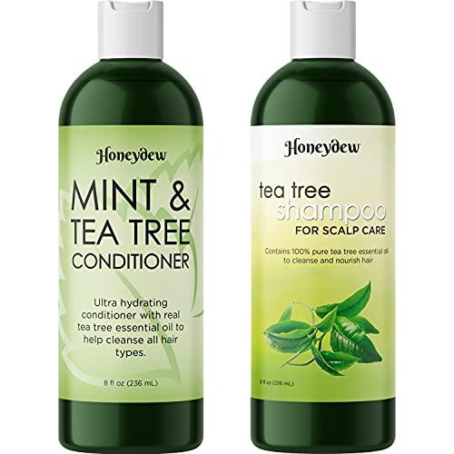 Tea Tree Mint Shampoo and Conditioner -...