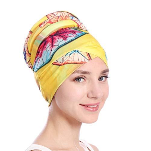 Battnot Hijab-Turban-Wickelkappe für Damen Islamischer Moslem-Hut Headwrap-Schal Decken Chemo-Kappe neu ab Multifunktions Hut Krebs Caps, Frauen Sommer-Sport Hüte Casual Sonnenhut Outdoor Womens Hat