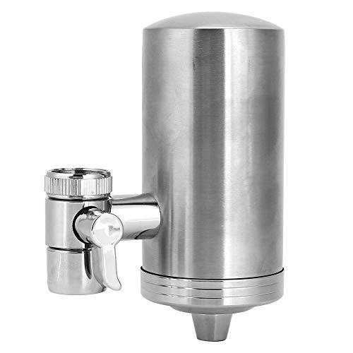 01 Wasserhahnreiniger, professioneller Wasserhahnfilter ohne Leckage, langlebig für die Reduzierung von Chlorblei durch Spülbecken