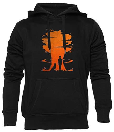Nuclear Guerra Unisex Negro Sudadera con Capucha Sweatshirt Herren Damen Mangas Larga Tamaño XL Unisex Black Hoodie Long Sleeves XL