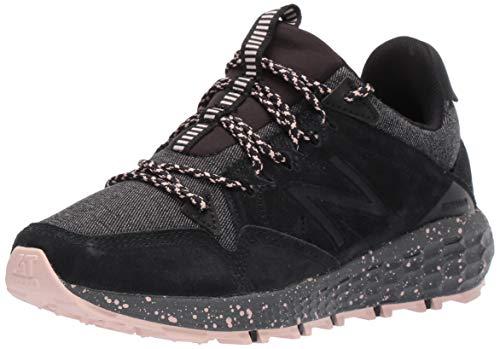 New Balance Crag V1 Fresh Foam, Zapatillas Deportivas. Mujer, Negro y Roble Blanco, 40 EU