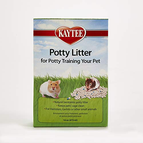 Kaytee Potty Litter for Potty Training Your Pet Hamster, Gerbil or Other...