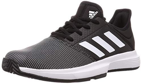 adidas Damen Gamecourt W Tennisschuh, Kern SCHWARZ/FTWR Weiss/GRAU SECHS, 38 2/3 EU