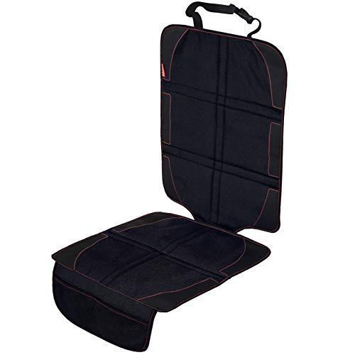 LCP Kids Autositzauflage I Robuster Auto Kindersitz Schonbezug I Antirutsch Unterlage mit Isofix Kompatibilität