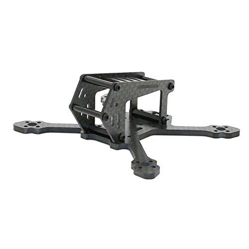 BouBou Spc Maker 100Sp 100Mm FPV Racing Rc Drohnen Rahmen Kit Carbon 3Mm Arm Unterstützung Runcam Micro Swift Cam