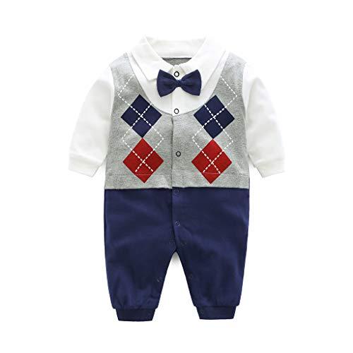 Baby katoen romper overall jongens meisjes lange mouwen outfits pasgeborenen karikatuur print jumpsuit
