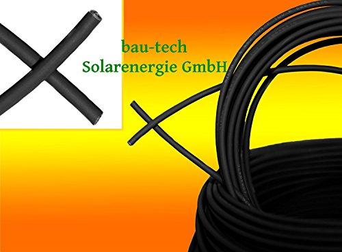 Solarkabel 10mm² SCHWARZ von bau-tech Solarenergie GmbH