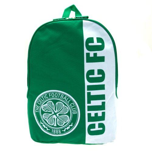 Celtic Football Club Backpack Rucksack Green White Official