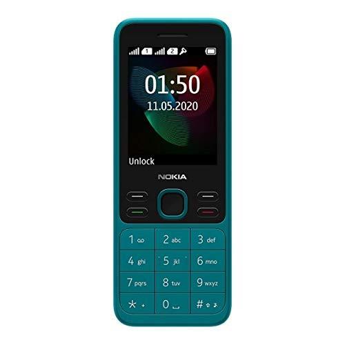 (Renewed) Nokia 150 (2020) (Cyan)