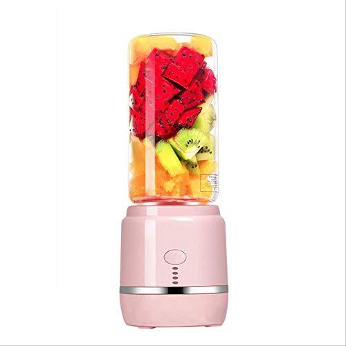 Portable Juice Blender USB Rechargeable Juicer Cup Vegetables Fruit Mixer Electric Smoothie Blender Smoothie Maker Blenders Pink