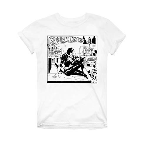 DC Comics Batgirl Comic Camiseta, Blanco (White White), 44 (Talla del Fabricante: XX-Large) para Mujer