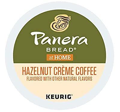 Panera Bread Hazelnut Creme Coffee single serve capsules for Keurig K-Cup Pod brewers (36 Count),12 Count (Pack of 3)