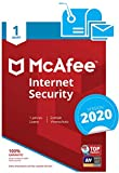 McAfee Internet Security 2018, 1 PC - Seguridad y antivirus (1 PC, 1)
