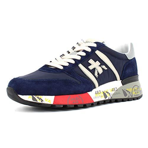 PREMIATA Sneakers Uomo Modello Lander Blu LANDER3756 43