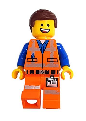 LEGO Figura individual Emmet de The Movie 2 con cabeza reversible.