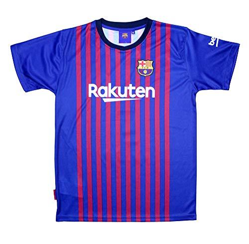 Camiseta Adulto - Personalizable - Primera Equipación Replica Original FC Barcelona 2018/2019 (XXL)