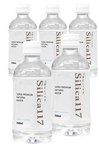 無添加天然シリカ水 silica117(シリカ117) シリカ含有量120mg/L 炭酸水素イオン510mg/L 他ミネラル含有 1箱/350ml×30本