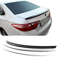 GUBIN Rear Wing ABS Spoiler 4 Colors Painted for Toyota Camry 2015 2016 2017 (Super White)