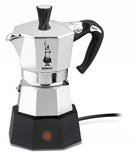 Bialetti Moka Elettrika Cafetera eléctrica de 2 tazas de viaje 120 ...