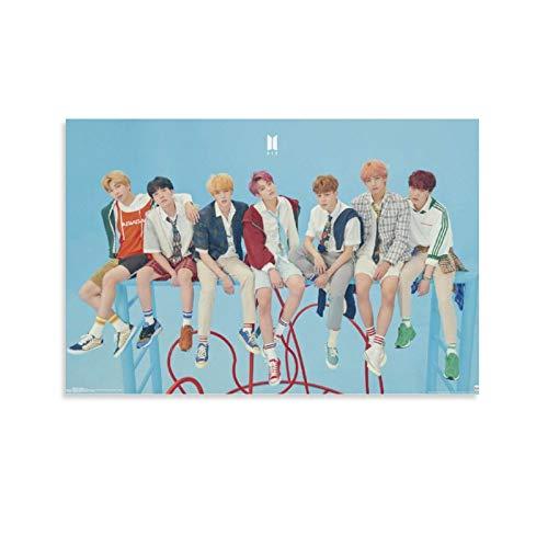 JDQS BTS Bangtan Boys Hd Póster artístico y arte de pared impreso moderno para...