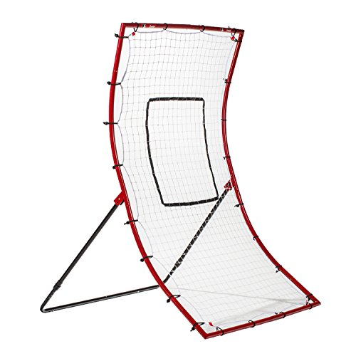 Franklin Sports Baseball Rebounder Net - Baseball + Softball Pitchback Net + Pitching Target - All Angle Bounce Back Net - Return Fielding Trainer - 48'