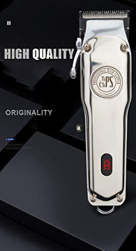 Tips for Clips: Professional Cordless Haircut/Beard Clipper Kit (13 Pieces) with accessories, 1, 2,...
