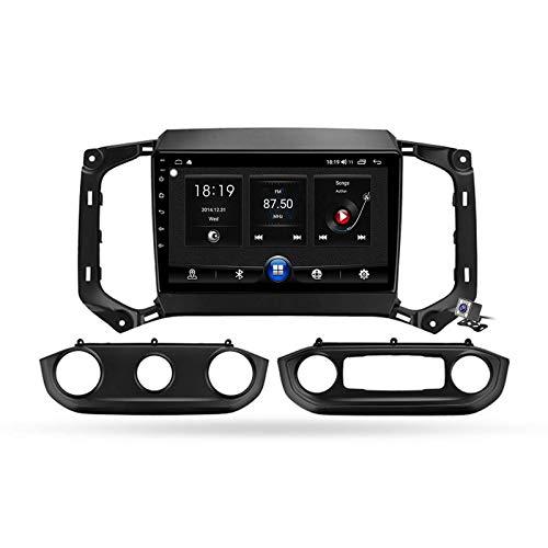 W-bgzsj Android 10.0 Coche estéreo, Radio GPS para Chevrolet Trailblazer 2017-2019 Cabeza de navegación MP5 Multimedia Player Video Receptor con 4G / 5G WiFi DSP RDS FM MirrorLink (Color : 7731)