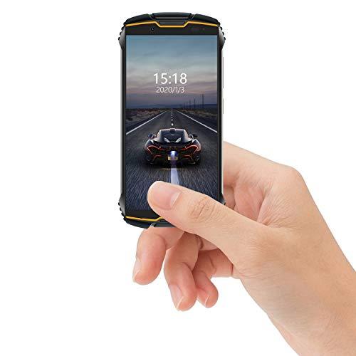 Cubot Kingkong Mini Kleines Smartphone 4G Outdoor Handy 4 Zoll Bildschirm Smartphone ohne Vertrag Dual SIM Handy Wasserdicht Stoßfest & Staubdicht, 3GB+32GB Rugged Smartphone (Schwarz+Orange)