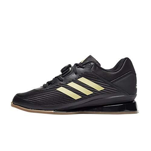 Adidas - Calzado para levantamiento de pesas, Leistung 16 II., color Negro, talla 37 1/3 EU ✅