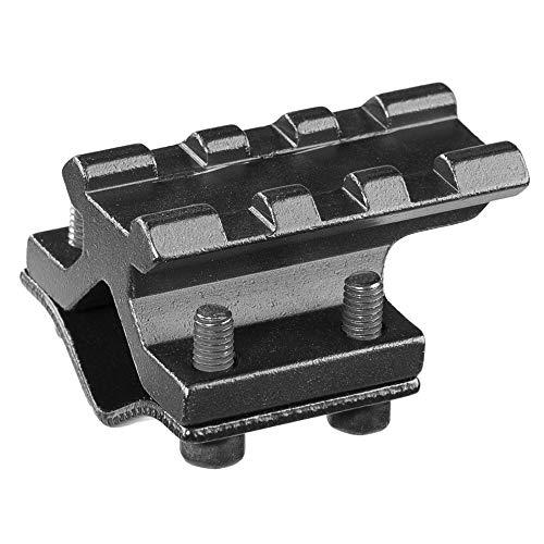ACEXIER Riel Universal Ajustable 20 mm Picatinny/Weaver Adaptador de riel de Montaje en Barril para Alcance Convertidor de Linterna láser